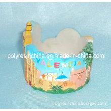Polyresin/Resin/Polystone Valencia Tourist of Souvenir Candle Holder