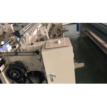 Electronic textile wool air jet loom