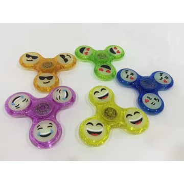 Glow In The Dark Fidget Spinner a mano