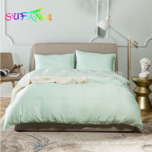 Pure tencel king size satin bedding set