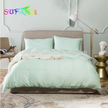 Conjunto de cama de cetim king size puro tencel