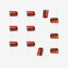 Condensador de película de poliéster metalizado Mkt-Cl21 10UF 5% 100V para PC