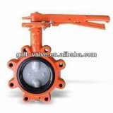 butterfly valve with Epoxy coating