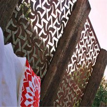 Perforated Laser Cut al aire libre jardín de metal pantallas