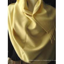 Кашемировый волновой шарф