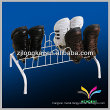 Retail Hot Sale Pushing sale matel powder coated durable pull out shoe rack