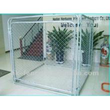 Cão de zinco galvanizado por imersão a quente e canil (fábrica)