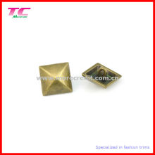 Metal Square Sewing Button