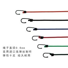 8mm paquete de cuerda obligatoria bicicleta / motocicleta / carretilla de equipaje correa de alta elasticidad cuerda elástica