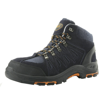 Middle ankle PU/Rubber Sole Safety Shoes