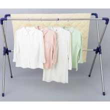 Telescopic X-Type Stainless Steel Clothes Hanger