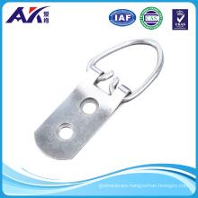 Heavy Duty Single Hole D Ring /Triangle Strap Hanger W/Screws