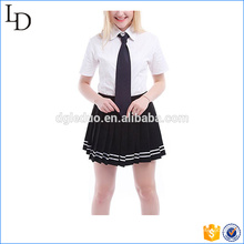 Summer Cotton Blends conception uniforme scolaire British Style China usine