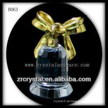 K9 Weihnachtsgeschenk Vergoldete Kristallglocke