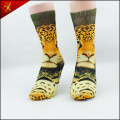 Polyester Tube Animal Print Socken