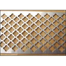 Hoja de metal perforada con bajo precio fabricado en China
