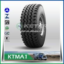 Échantillon gratuit Radial Truck Tire 6x6 tous les roues motrices camion tracteur 12r22.5