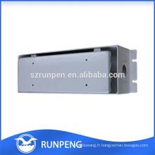 Emballage en aluminium AL102 boîtier de puissance électronique de précision