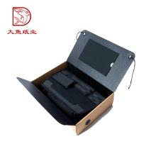 A granel al por mayor de tamaño personalizado pantalla personalizada pequeña caja de herramientas de papel
