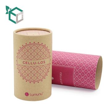 Tubo de papel ambiental barato al por mayor de la impresión del perfume