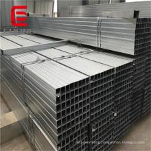 Q195 Mild Carbon Square and Rectangular Steel Pipe Pre galvanized Square Tube for Structure