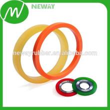 Coloridos e vários tamanhos Material de borracha O Rings