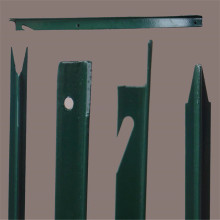 Galvanized Steel T Star Picket fence post