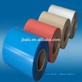 Revêtement de rouleau de haute qualité prépeint de papier d'aluminium de couleur pour la feuille d'aluminium de couleur prépeinte