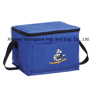 Royal Blue Reusable Non-Woven Cloth Small Insulated Cooling Bag