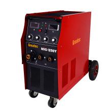 Machine de soudage à bouclage à gaz de CO2 à inverseur (MIG250Y)
