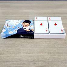 Jogo de cartas de baralho de papel de núcleo preto personalizado OEM