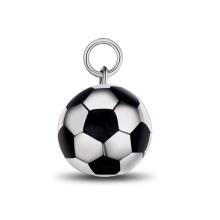 Joyería de la manera del collar del grano de Huifu del colgante del grano del balompié del fútbol