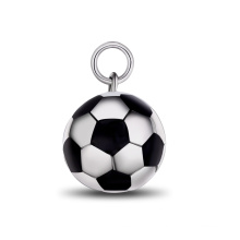 Futebol Bead Pingente Huifu Bead Colar Moda Jóias