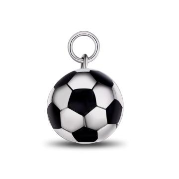 Football Bead Pendant Huifu Bead Necklace Fashion Jewelry