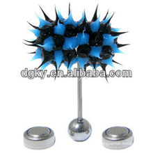 2014 fashion silicone cool vibrating body piercing jewelry