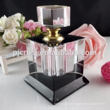 frascos de perfume claros de cristal adoráveis bonitos