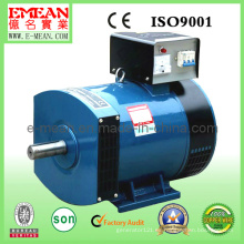 Generador trifásico del alternador de la CA del cepillo síncrono trifásico 10kw (STC-10)