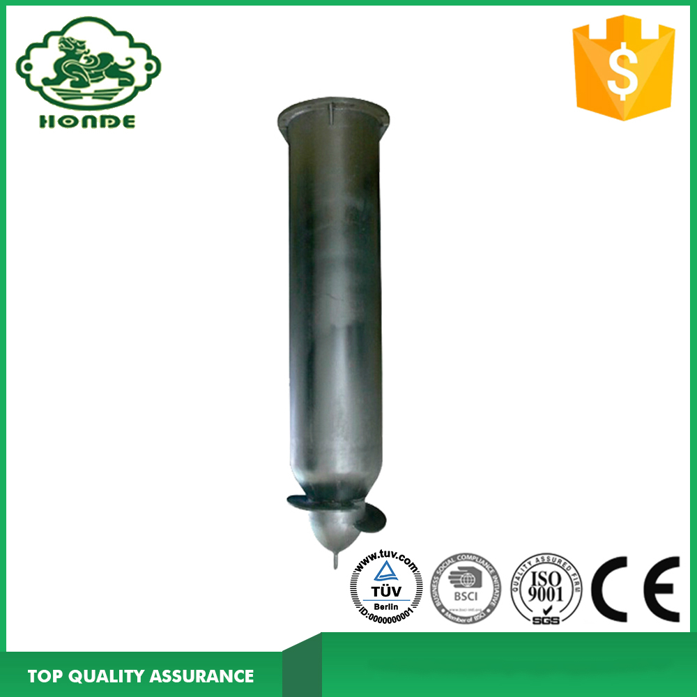 Ground Screw Drilling