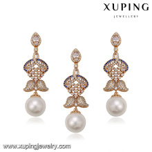 64265 fashion philippines pearl 18k white diamond gold mother of pearl inlaid jewelry