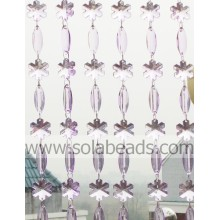 Winter 28MM&38MM Plastic Crystal Beading Garland