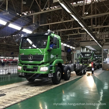 Original China SHACMAN truck F2000 F3000 H3000 X3000 tractor trailer towing truck head 40 60 80100 ton 380 400 420 hp  Africa