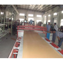 WPC Skinning board extruding machine