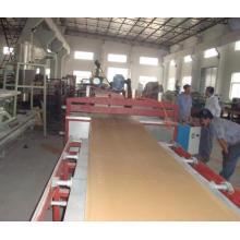 деревянная поверхность PVC картоноделательная машина пены коркы - деревянная пластичная линия штранг-прессования двери машины