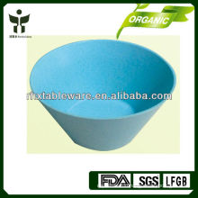 Biodegradable bamboo fiber soup bowl
