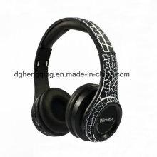 El auricular plegable estéreo de Bluetooth se divierte el auricular sin hilos del bluetooth