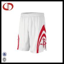 100% Polyester Custom Mans Basketball Shorts Design