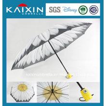Kundenspezifische Mode Auto öffnen und schließen Windproof Regenschirm