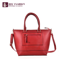 HEC Wholesale Fancy Design Red Ladies Bags Handbag