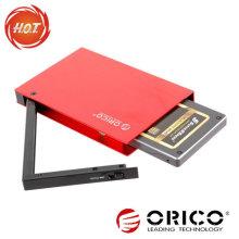 2.5 '' SATA HDD Externes Gehäuse mit USB3.0 + eSATA Schnittstelle