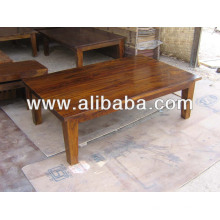 Table basse en bois de Sheesham